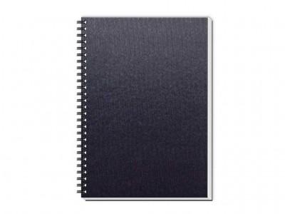 caderno percalux grande azul