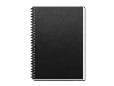 caderno percalux grande preto