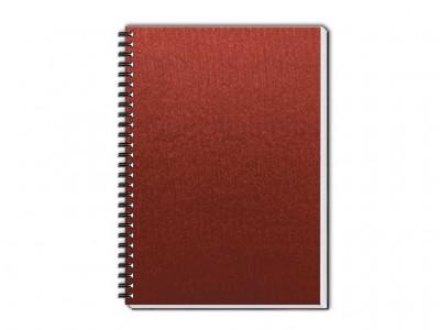 caderno percalux grande vermelho