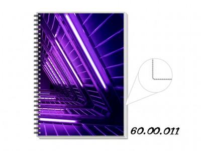 caderno personalizado branco