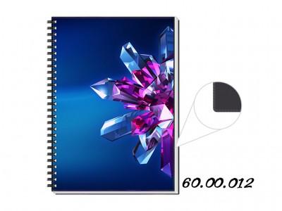 caderno personalizado preto