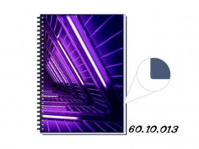 Caderno PVC Azul Personalizado