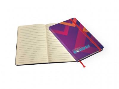 Caderneta de anotações couchê laminado